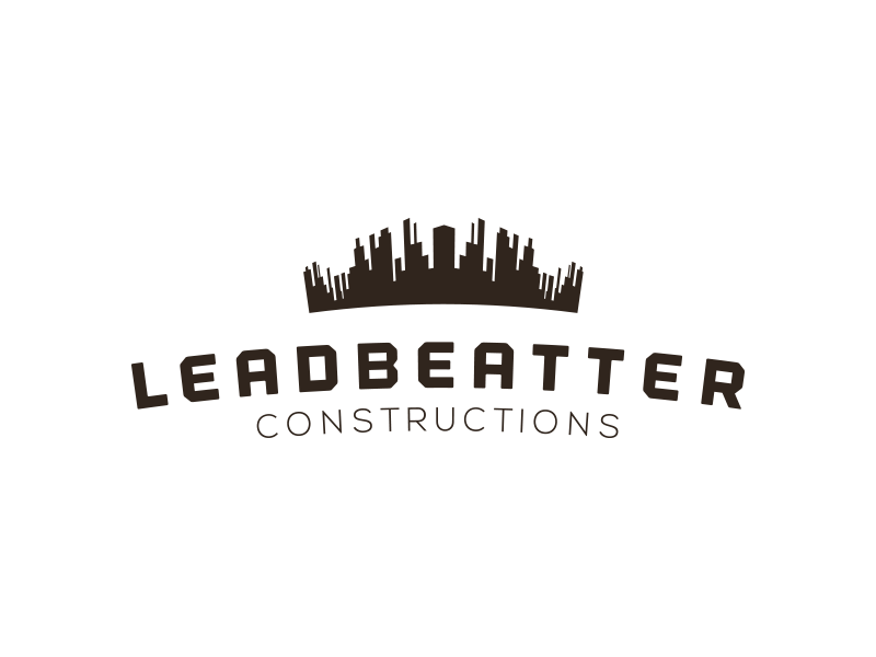 Construction company logo design